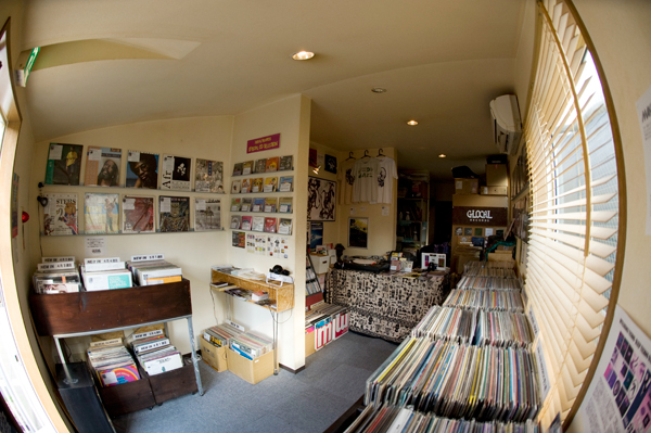 glocal records shop photo
